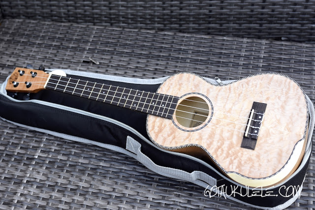 ISUZI QM-T Tenor Quilted Maple Review – GOT A UKE